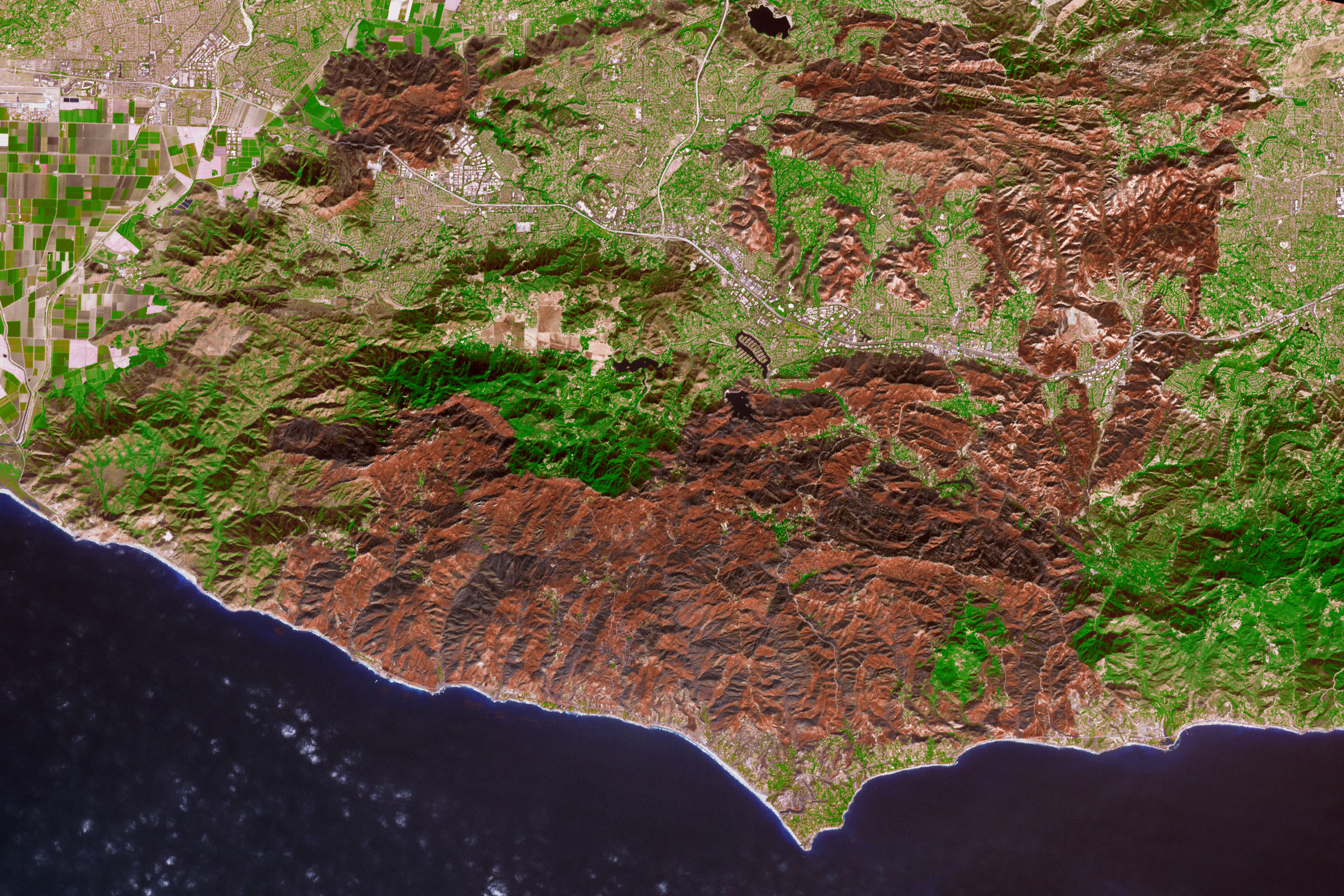 Woolsey Fire Burn Scar - related image preview