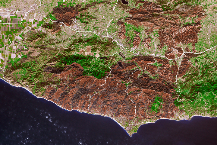 Woolsey Fire Burn Scar - selected image