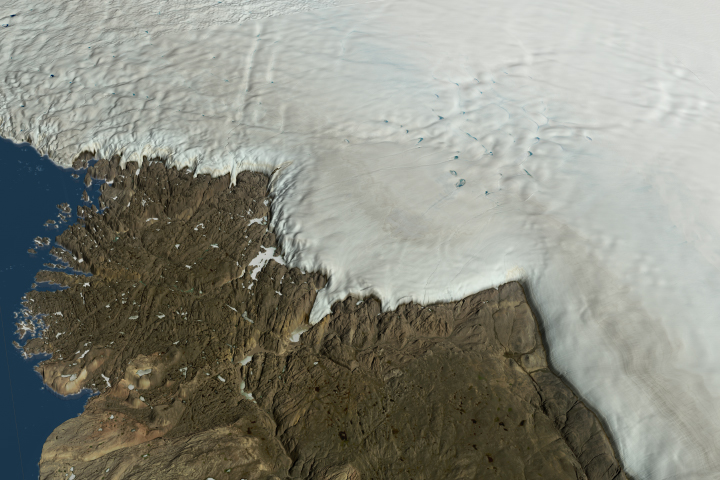 Crater Lurks Beneath the Ice