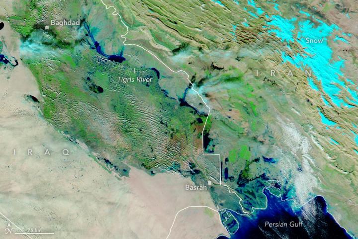 Floods Swamp Iraq