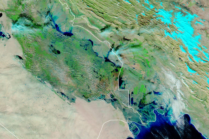 Floods Swamp Iraq