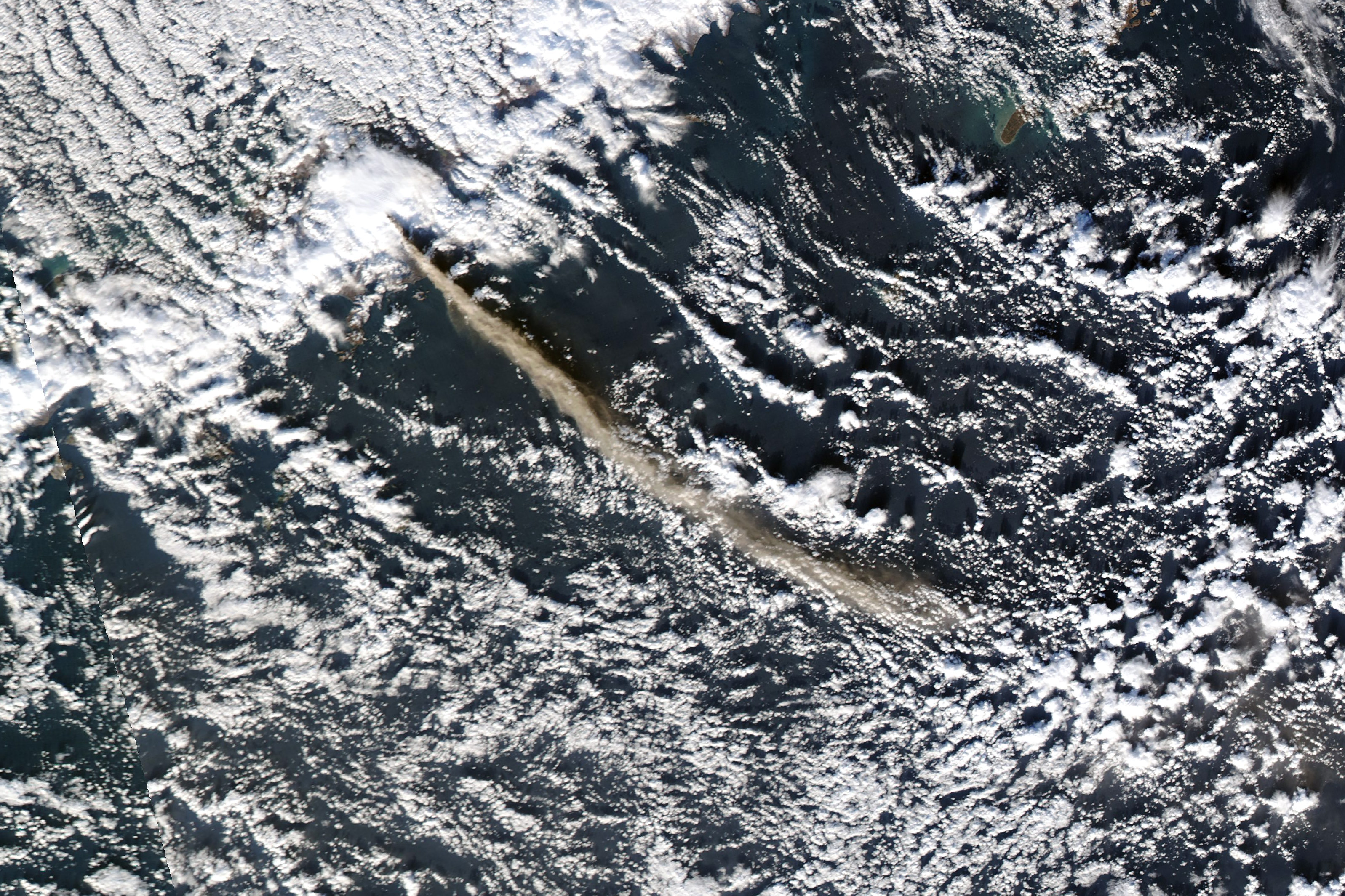 Ash Over the Gulf of Alaska - related image preview