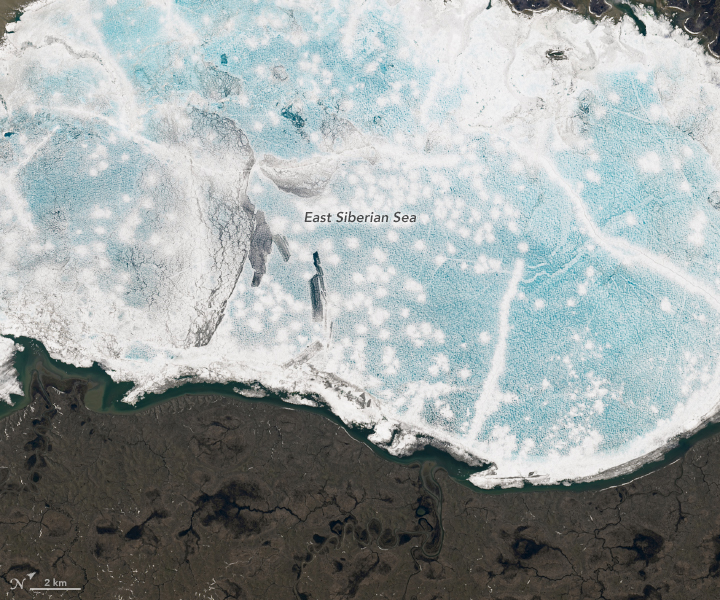 Icescapes of the Anzhu Islands - related image preview