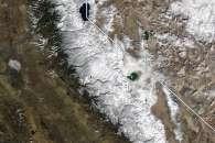 Winter Arrives in the Sierra Nevada