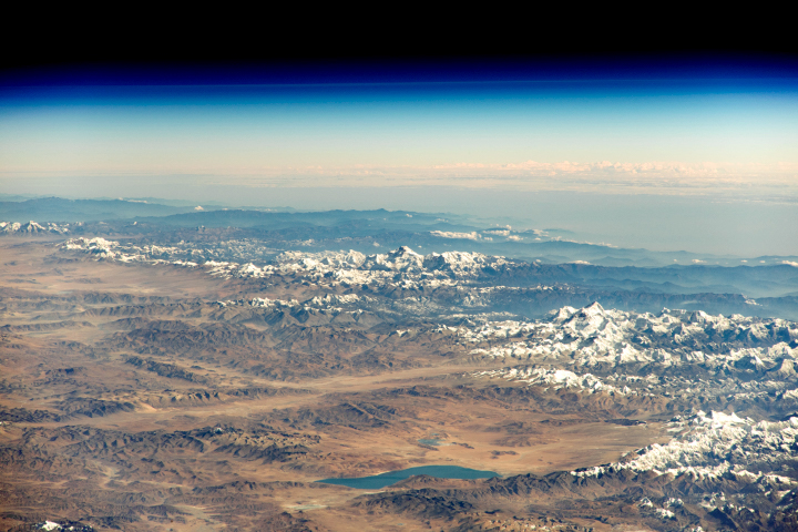 An Astronaut's View of the Himalayas - selected image