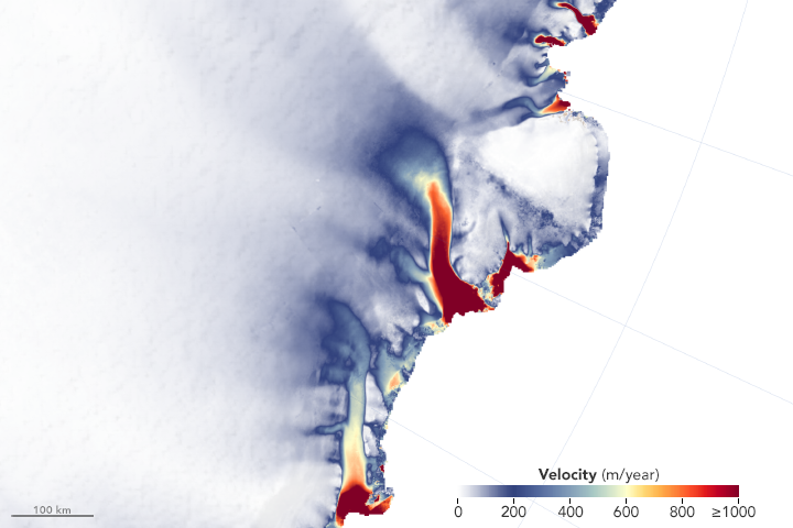 More Glaciers in East Antarctica Are Waking Up - related image preview