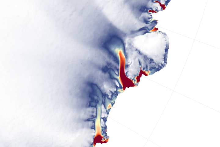 More Glaciers in East Antarctica Are Waking Up - selected image