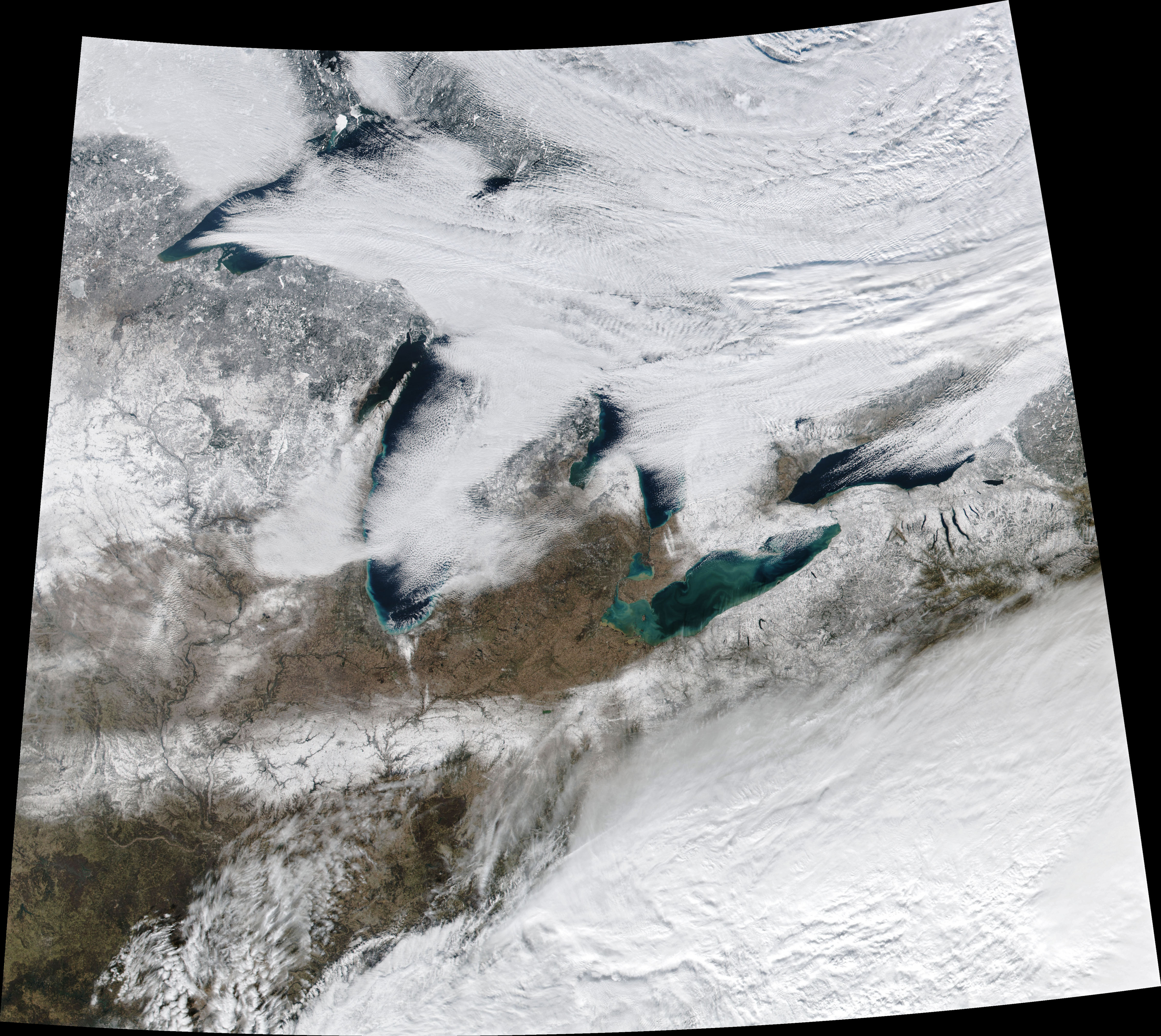 A Wintry Great Lakes Landscape - related image preview