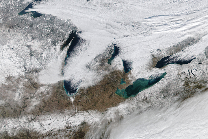 A Wintry Great Lakes Landscape