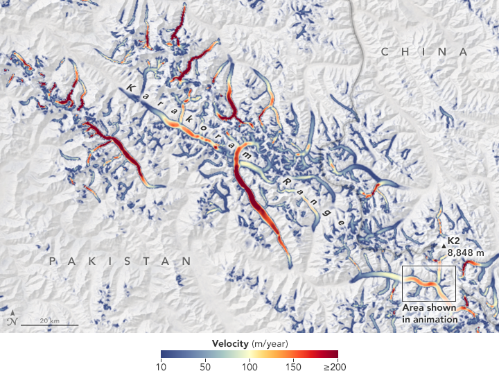 Ice Loss Slows Down Asian Glaciers - related image preview