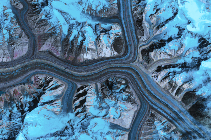 Ice Loss Slows Down Asian Glaciers - selected image