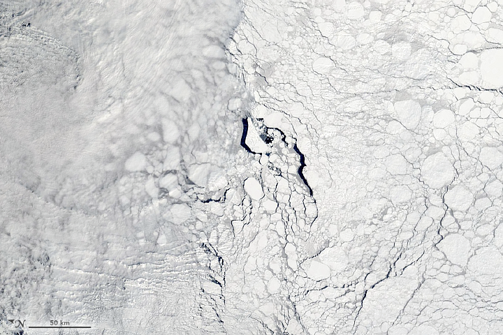 Thick and Thin Ice in the Weddell Sea - related image preview