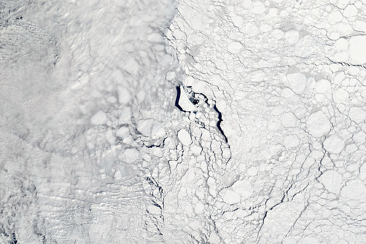 Thick and Thin Ice in the Weddell Sea - selected image