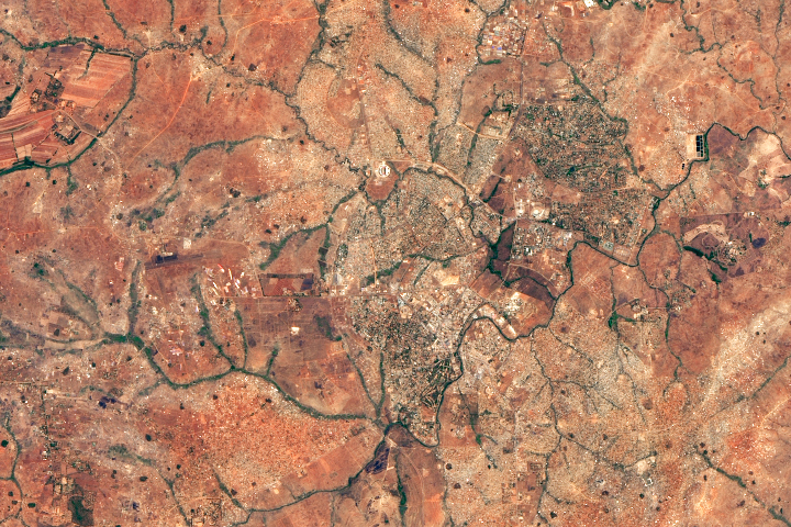 Lilongwe and Landsat Grew Up Together