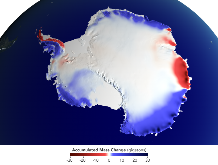 Snow over Antarctica Buffered Sea Level Rise