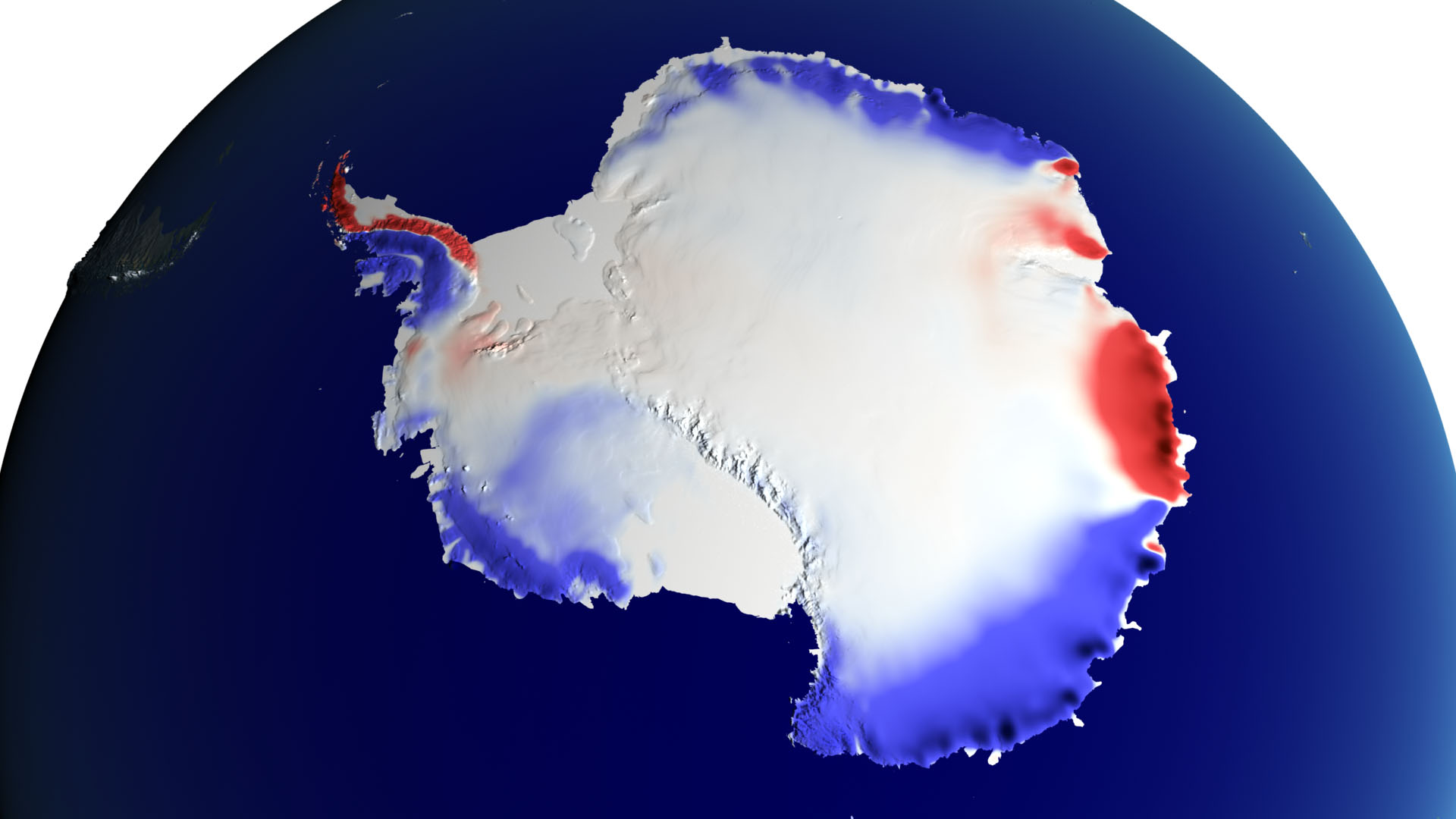 Snow over Antarctica Buffered Sea Level Rise - related image preview