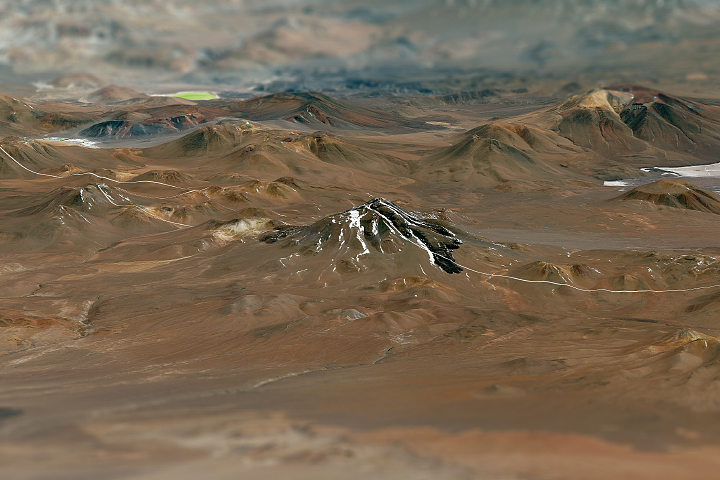 Llullaillaco Volcano - selected image