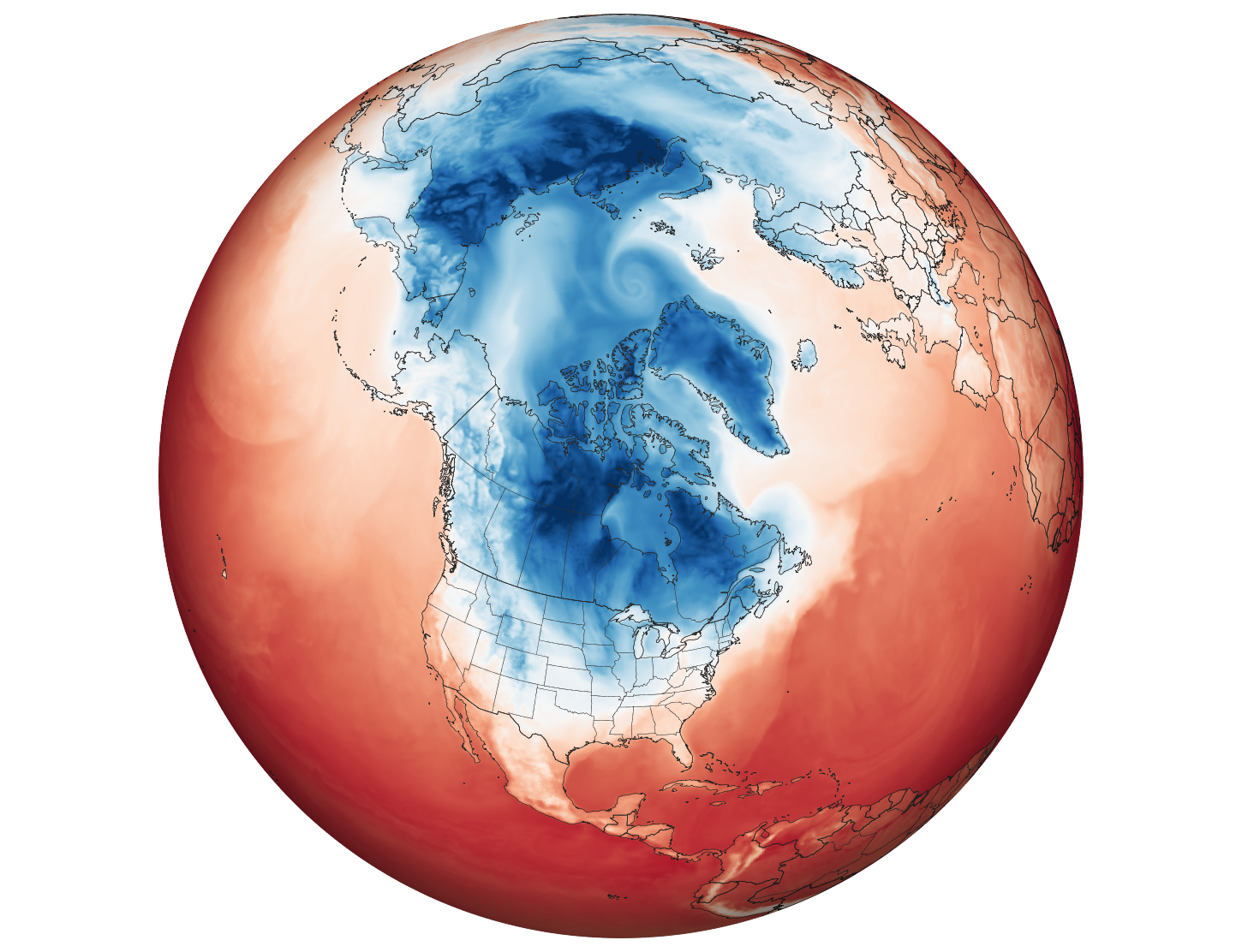 Arctic Weather Plunges into North America - related image preview