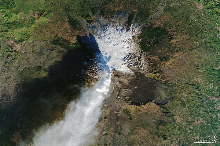 Etna Awakens on its Side