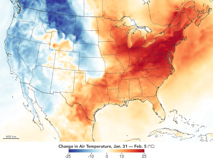 Wild Winter Temperature Swings