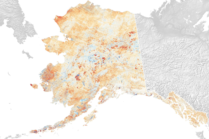 Alaska in Flux: Slumping Coastlines - selected image