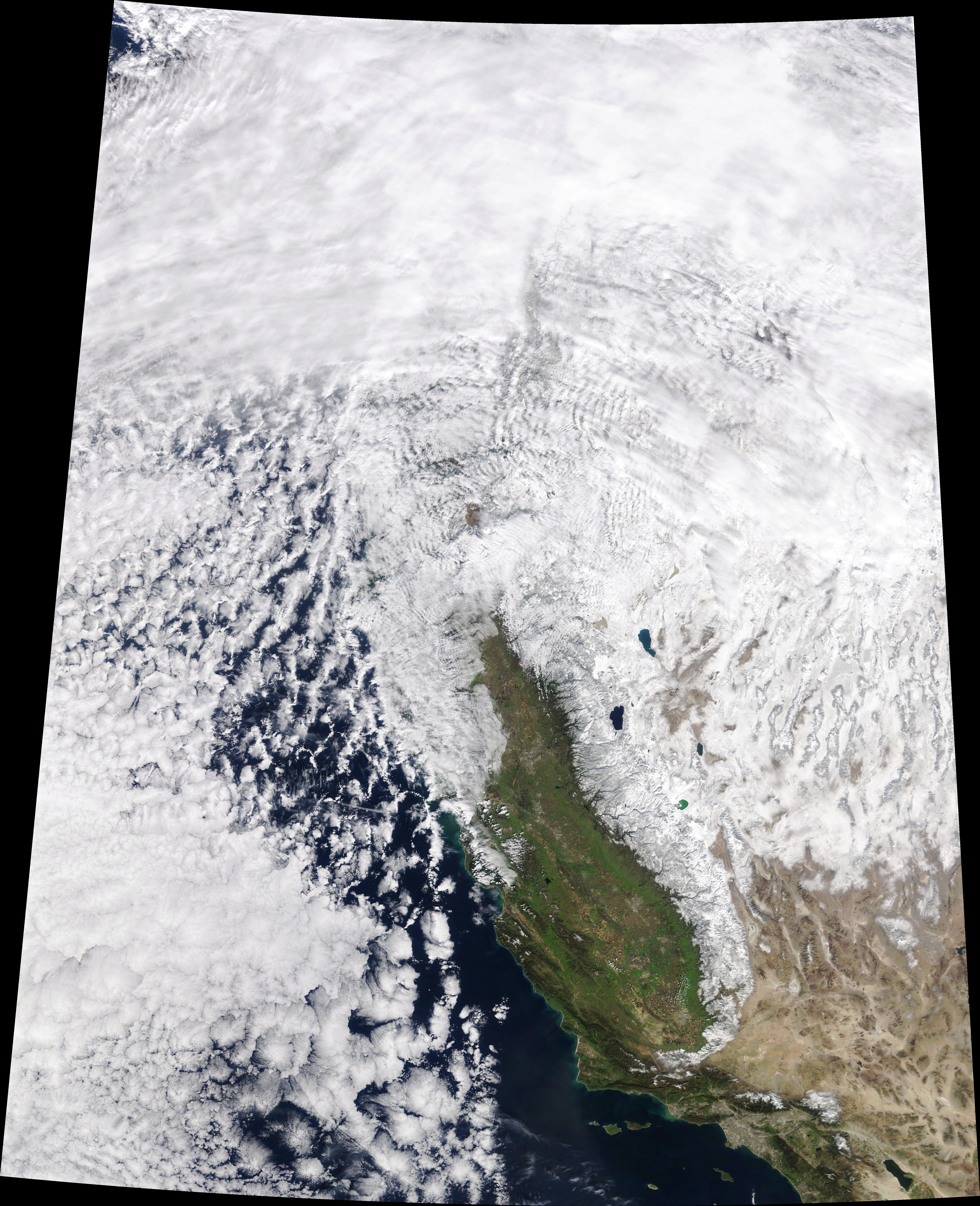 A Strong Start to Sierra Snowpack - related image preview