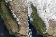 A Strong Start to Sierra Snowpack