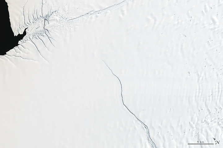 Countdown to Calving at Brunt Ice Shelf - related image preview