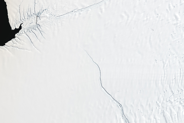 Countdown to Calving at Brunt Ice Shelf - selected image