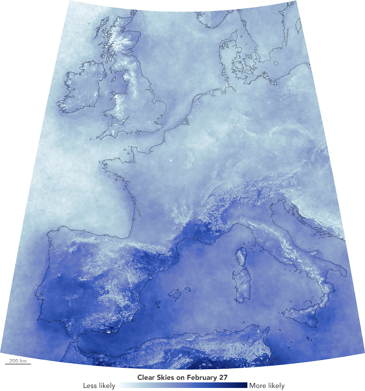 A Break in the Clouds for Europe - related image preview