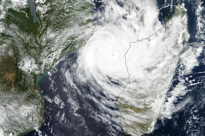 Tropical Cyclone Idai - selected image