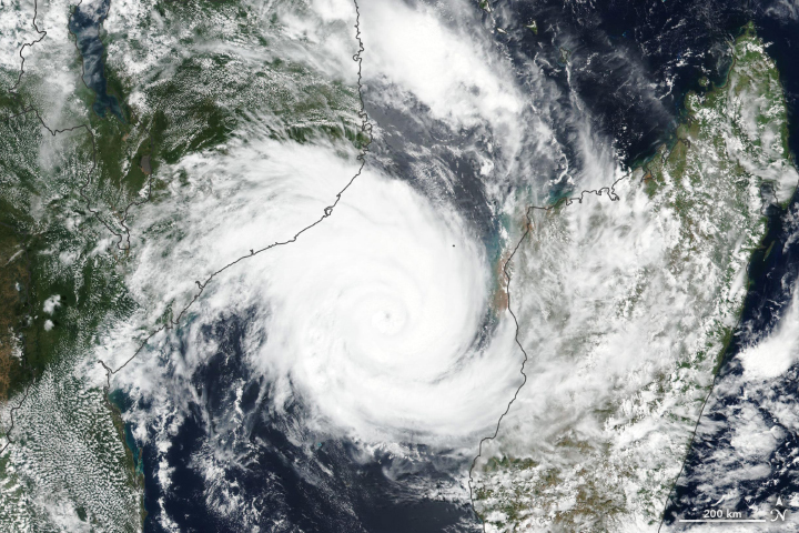 Tropical Cyclone Idai Aims at Mozambique - related image preview