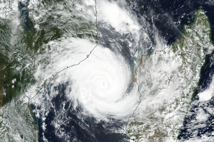 Tropical Cyclone Idai Aims at Mozambique