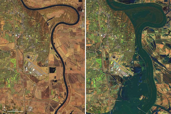 Historic Floods Inundate Nebraska