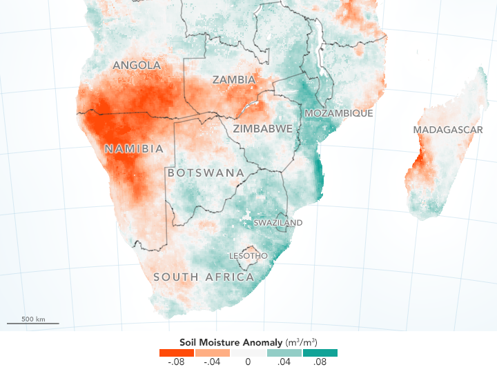 Drought Harms Corn Crops in Southern Africa - related image preview
