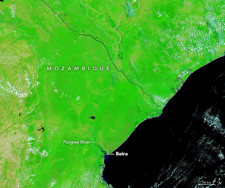 Devastation in Mozambique