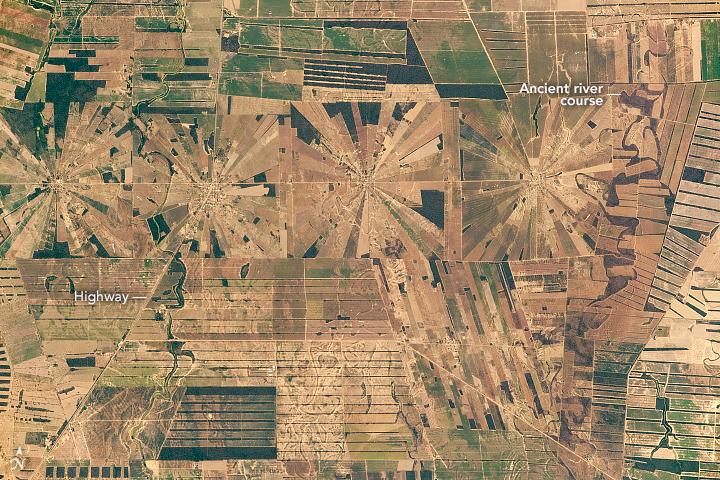 Pinwheel Squares in Bolivia