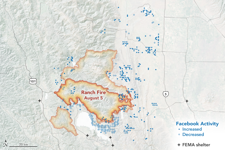 Understanding Evacuation Patterns with Social Media - related image preview