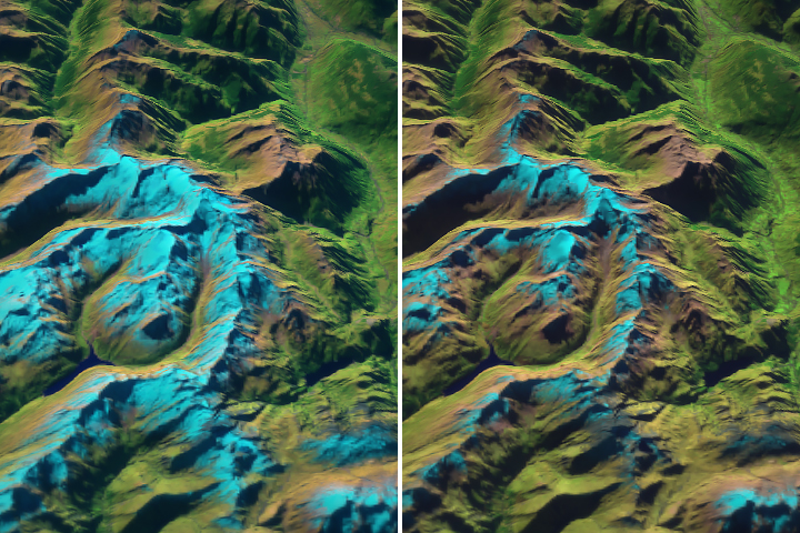 Länta Glacier: Small and Getting Smaller - selected image