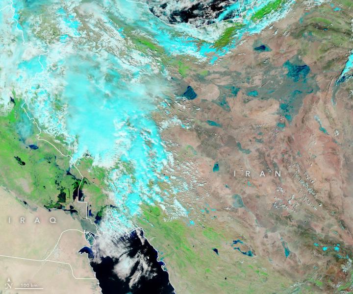 Floods Ravage Iran and Iraq