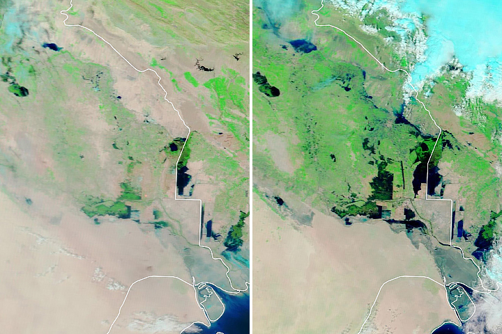 Floods Ravage Iran and Iraq