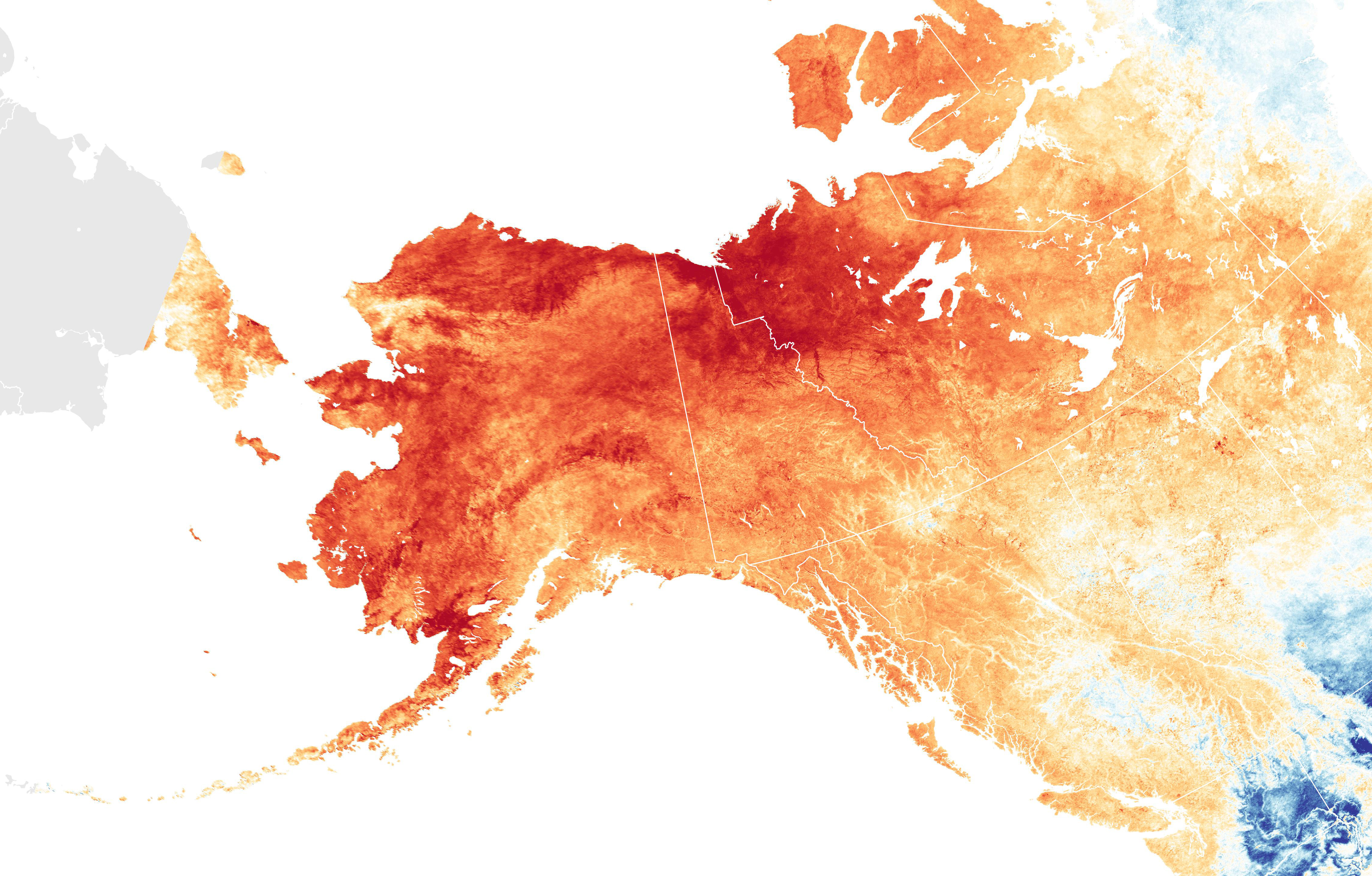 Alaska Hit With a Hot March on map of alaska road system, map of ohio with cities and towns, map of deadhorse alaska, map of kenai peninsula alaska, map of wales with towns and cities, map of tennessee with cities and towns, map of germany with cities and towns, map of british columbia canada with cities, map of canada provinces, map of north america, map of alaska villages, map of alaska and washington state, map of palmer alaska, map of alaska coastline, map of maine with cities and towns, map of alaska inside passage, map of africa, map of homer alaska, map of united states with cities, map of alaska showing cities,
