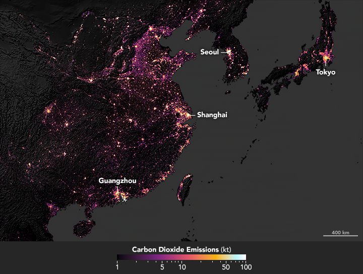 Sizing Up the Carbon Footprint of Cities