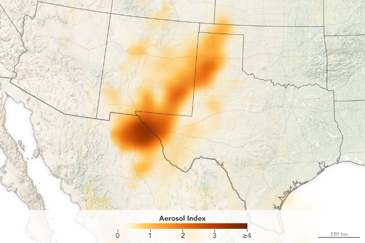 Storm System Stirs Up Dust - related image preview