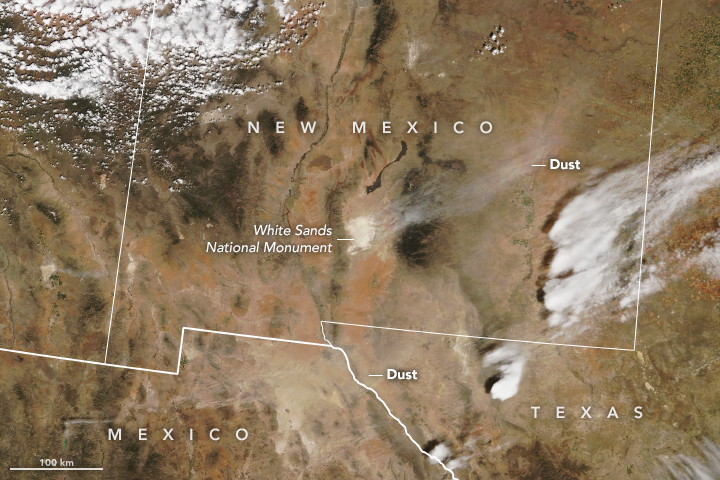 Storm System Stirs Up Dust