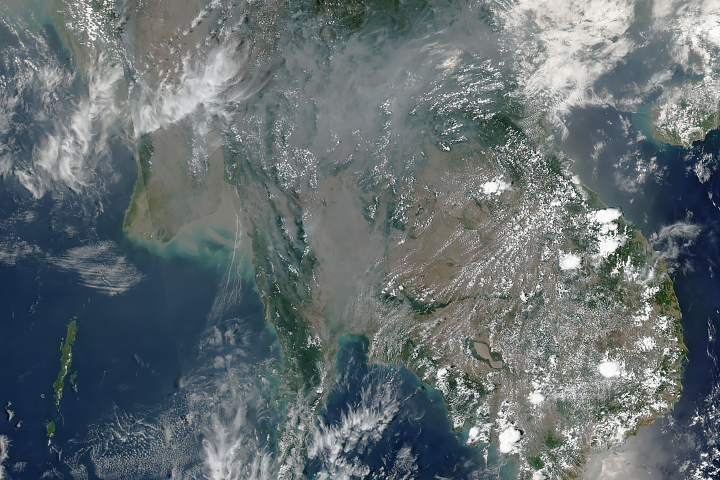 Unhealthy Smoke Over Thailand