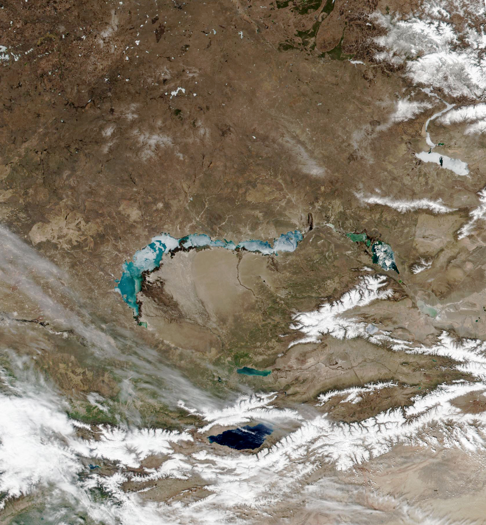 Melting on Lake Balkhash - related image preview
