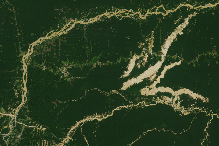 Tracking Peruvian Forest Loss from Space - selected image
