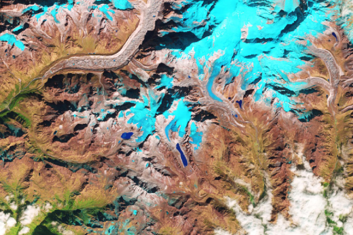 As a Himalayan Glacier Melts, a Lake Grows