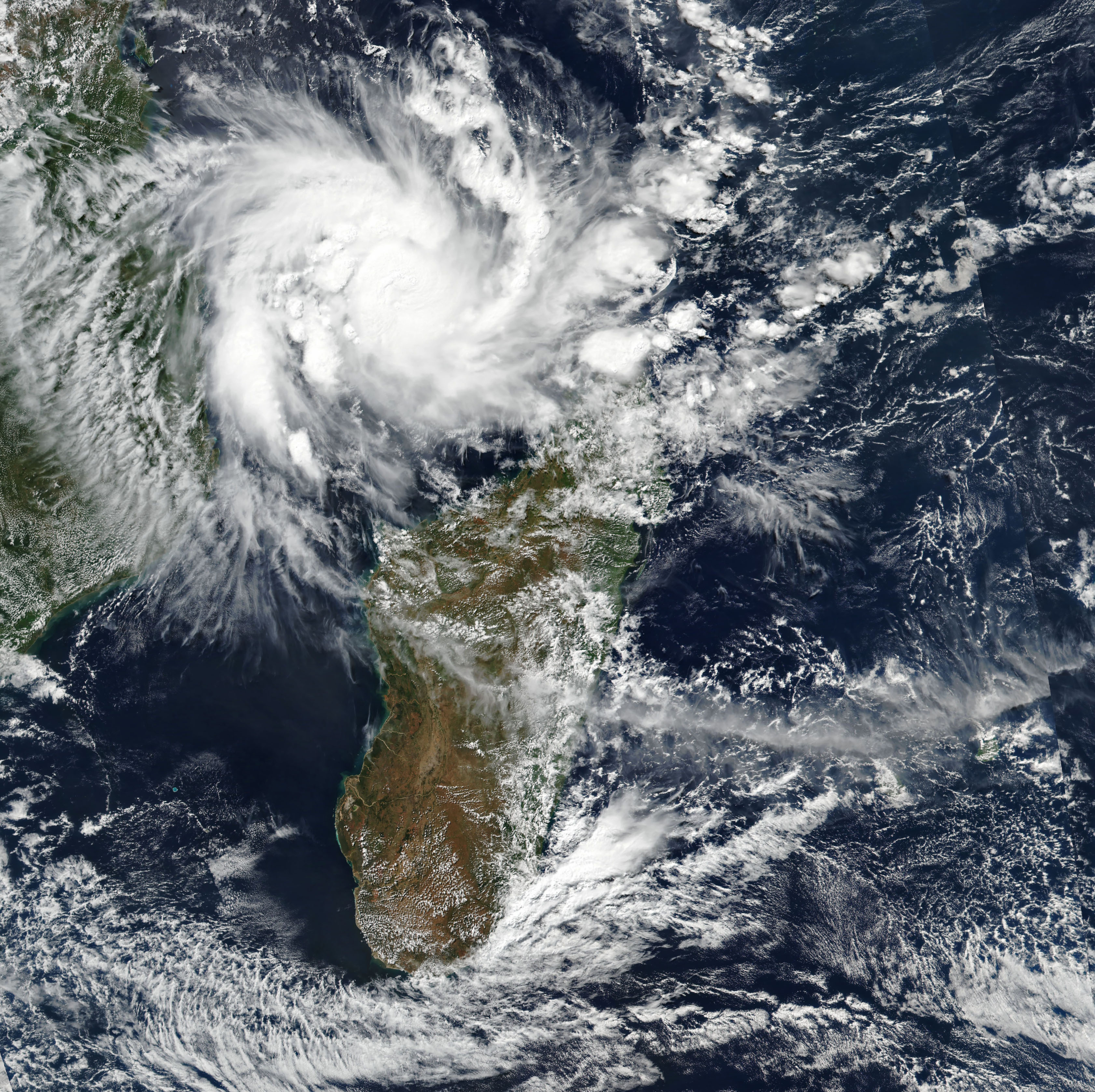 Mozambique Braces for Tropical Cyclone Kenneth - related image preview